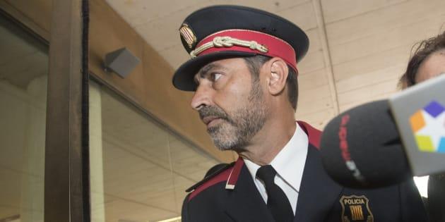 El major de los Mossos d'Esquadra, Josep Lluís Trapero.