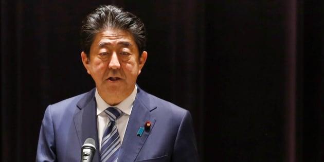 安倍晋三首相 September 11, 2017.   REUTERS/Toru Hanai
