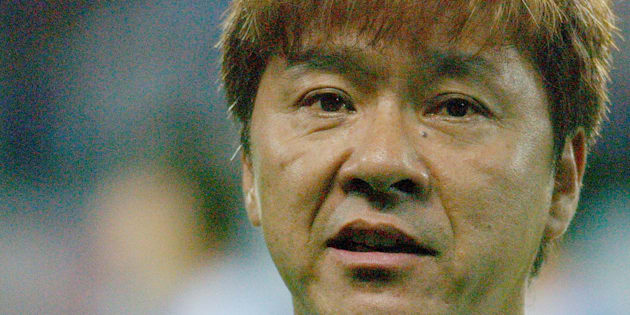 Hideki Saijo sang National Anthem of Japan at opening ceremony (Photo by Jun Sato/WireImage)