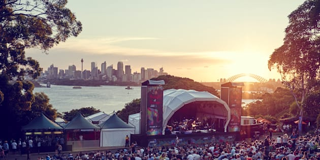 The view from Sydney's Taronga concerts