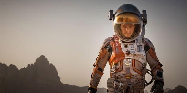 The Martian, starring Matt Damon, was the most popular film of 2016.