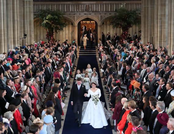 Everyone was wearing jewel tones at royal wedding