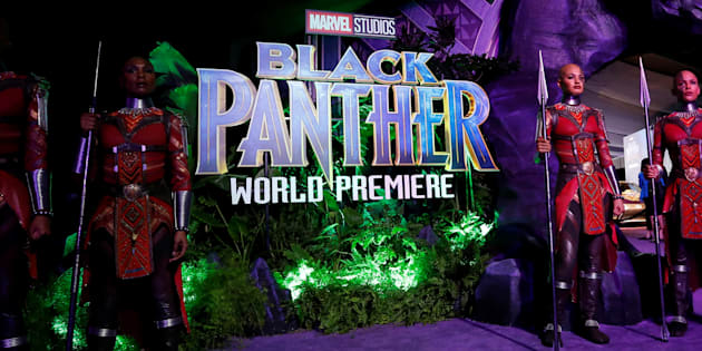 "The premiere of ""Black Panther"" in Los Angeles. January 29, 2018."