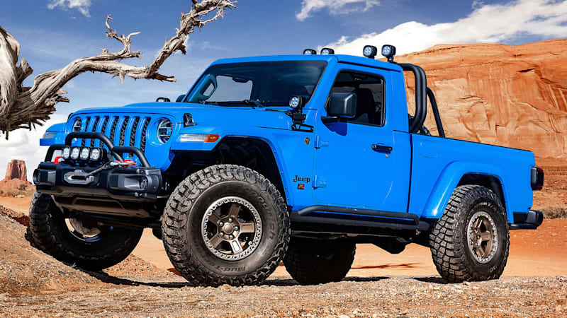 Jeep Wrangler Pickup Price >> Jeep J6 Pickup Truck Concept Should Be Offered As A Kit Autoblog