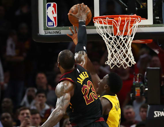 LeBron block move may have been a rule violation