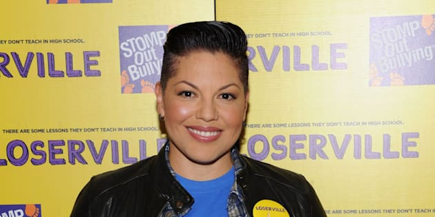 Sara Ramirez à New York le 3 octobre 2016.