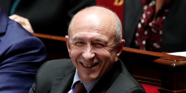 Gérard Collomb à l'Assemblée nationale au mois de novembre.