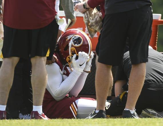 Redskins linebacker Reuben Foster tears ACL