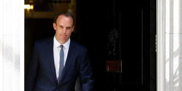 El nuevo ministro para el Brexit, Dominic Raab.
