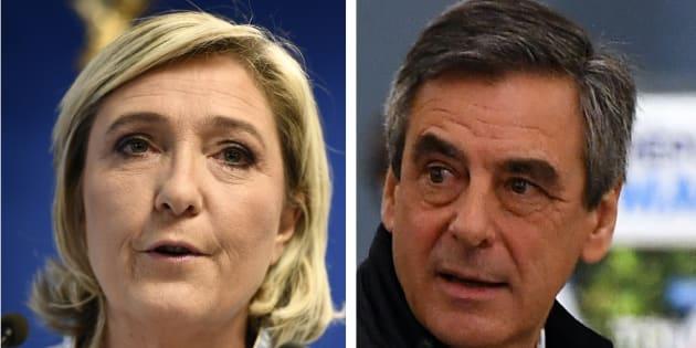 Syrie: le gros embarras des candidats pro-Poutine Marine Le Pen et François Fillon