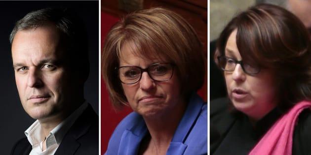 Outre l'écologiste François de Rugy, les députées de La République en Marche Brigitte Bourguignon et Sophie Errante sont candidates à la présidence de l'Assemblée nationale.