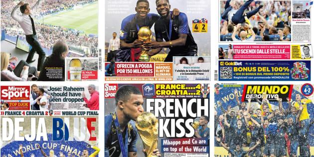 La France championne du Monde: concours de jeux de mots dans la presse étrangère après la victoire des Bleus.