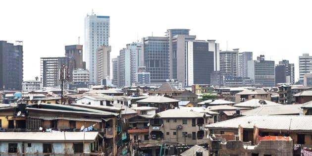 Lagos, au Nigéria.