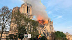 Notre Dame Fire Ravages Iconic Paris