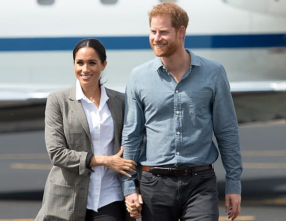 How Meghan and Harry revealed baby news to family