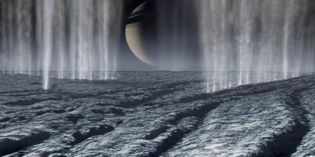 La vie pourrait bien se développer sur Encelade, lune de Saturne. Des chercheurs ont fait le test
