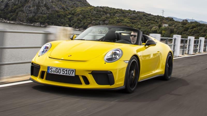 2019 Porsche 911 Speedster First Drive Review