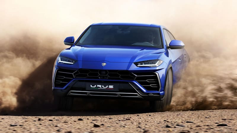 Lamborghini Wants To Enter The Urus In Off Road Racing Autoblog