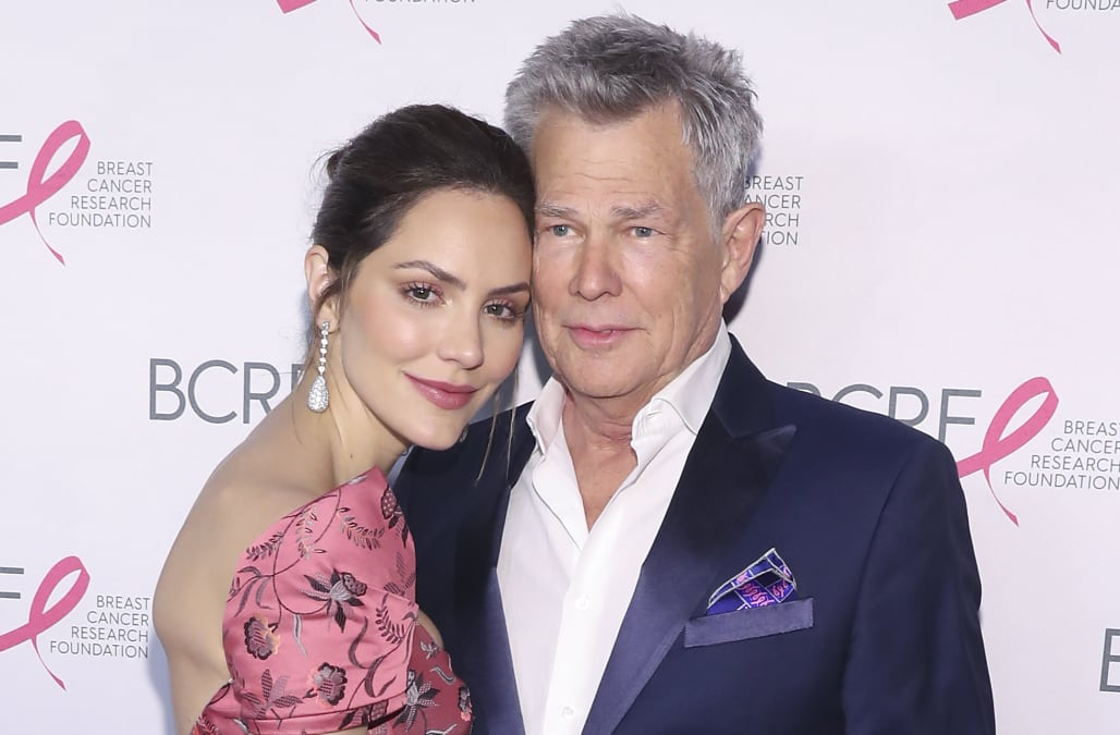 Katharine Mcphee And David Foster Send Clear Message To Critics Of Their 34 Year Age Difference Aol Entertainment