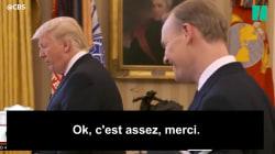 Voilà ce qui arrive quand on demande à Trump de s'expliquer sur