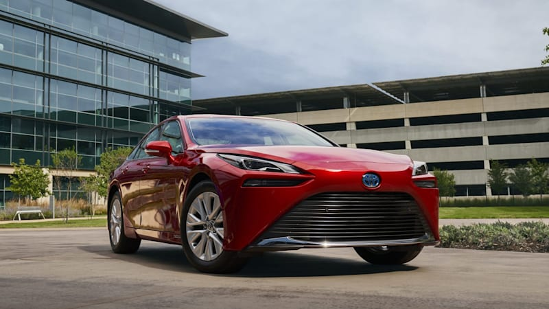 2021 Toyota Mirai trim levels, features detailed