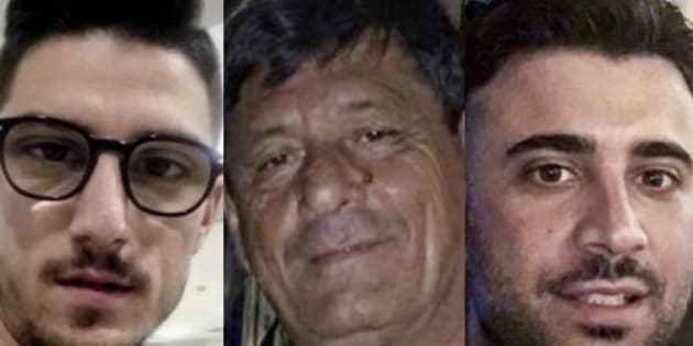 Raffaelle Russo, Antonio Russo y Vincenzo Cimmino desaparecieron el 31 de enero después de ser detenidos por la policía de Tecalitlán.