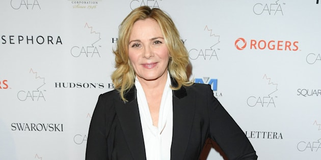 """Kim Cattrall is crossing her fingers for a """"SATC"""" spinoff."""