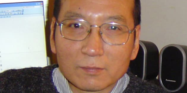 Liu Xiaobo à Guangzhou en Chine en 2005.