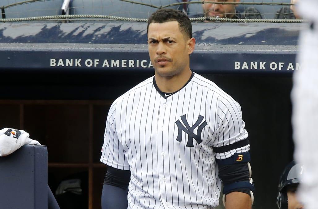 official photos 20ea9 564e3 Yankees are having a tough time explaining Giancarlo ...