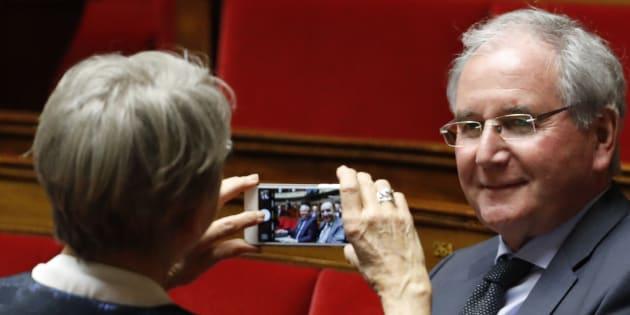 Jean-Michel Clément à l'Assemblée nationale le 22 février 2017.