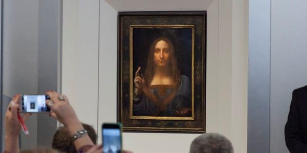 """Ce que nous révèle la vente de """"Salvator Mundi"""" de Leonard de Vinci, la peinture la plus chère au monde."""