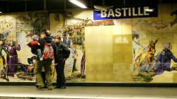 Le suspect de l'agression au liquide inflammable à Paris placé en unité