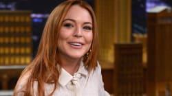 Lindsay Lohan lance un jeu télé démoniaque autour des réseaux