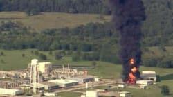 Un nouvel incendie spectaculaire dans l'usine du groupe français