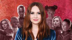 Karen Gillan Volunteers To Direct An All-Female Marvel
