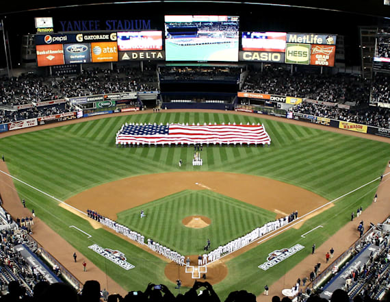 Yankees stop 'God Bless America' tradition