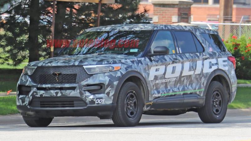 2020 Ford Explorer Police Interceptor Hybrid revealed in ...