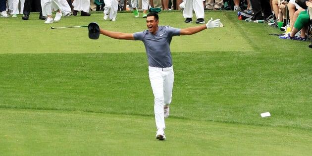 Golf: À Augusta, Tony Finau est passé par tous les états en quelques secondes.