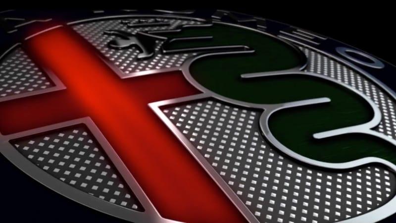 alfa romeo shows off giulia, new logo in latest video - autoblog