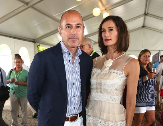 Lauer's wife boots him from home