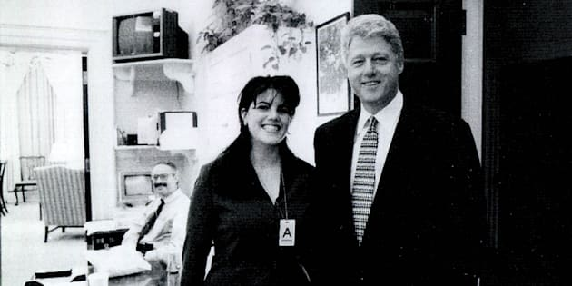 """Monica Lewinsky: """"Così Clinton macchiò il mio abito dop"""