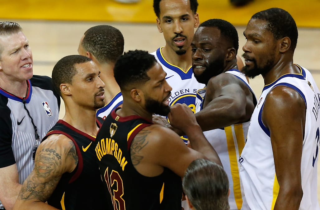 233745207dc8 Reports  Tristan Thompson punched Draymond Green at LeBron James  ESPYs  afterparty