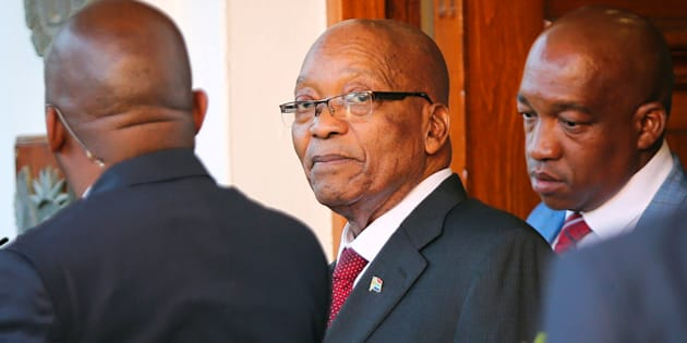 S. African deputy president confirms discussing with Zuma over his