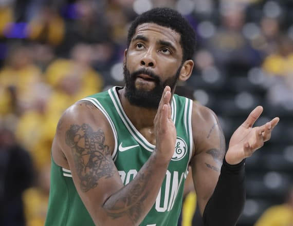Report: Kyrie Irving has 'ghosted' the Celtics
