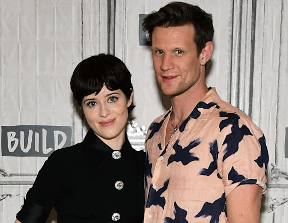Claire Foy and Matt Smith discuss 'The Crown'