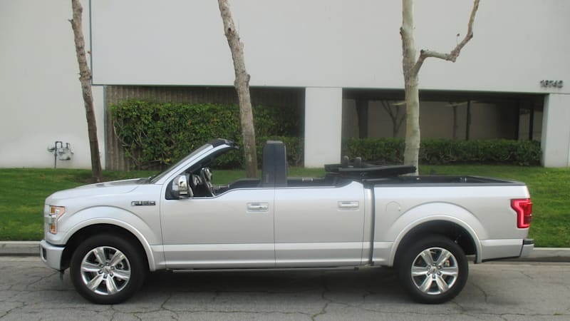This convertible Ford F-150 is the answer to a question we ...