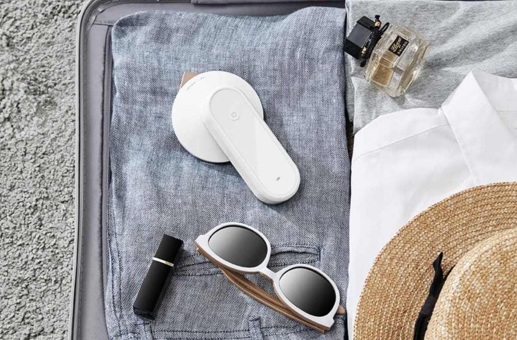 This portable wireless iron may be the travel companion you never knew you needed