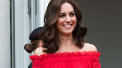 Prost! Duchess Nails The Look Of Summer In Off-The-Shoulder