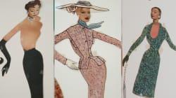 Quand le jeune Yves Saint Laurent dessinait des vêtements pour ses