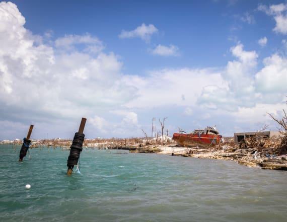 Tropical Storm Humberto skirts Bahamas